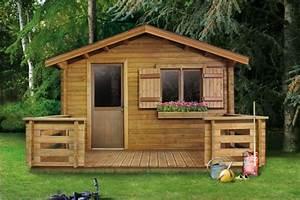 Grand Abri De Jardin : abri jardin terrasse les cabanes de jardin abri de ~ Dailycaller-alerts.com Idées de Décoration