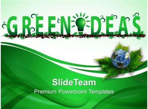 nature pics powerpoint templates green ideas environment