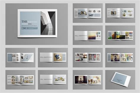 12235 portfolio book layout design indesign portfolio brochure v419 brochure templates
