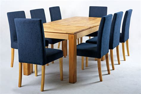 blue dining room table vasa modern fabric dining chair with removable cover navy blue