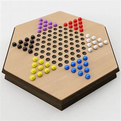 Checkers Chinese 3d Sports Models Cgtrader