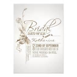 custom designed wedding invitations vintage bridal shower invitations zazzle