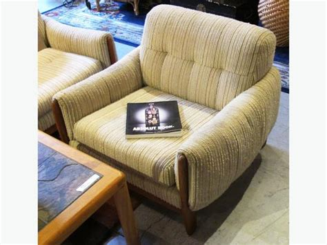 reducedmid century modern teak chair  weave