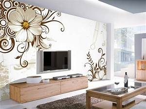 12 3D Wallpaper for TV Wall Units That Will Make a ...