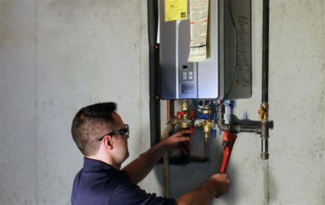 easy tips  install tankless water heater diy