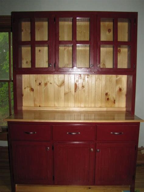 Handmade Rustic Kitchen Hutch By Weber Wood Designs