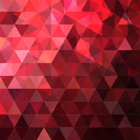 Abstract Black Triangle by Abstract Triangles Design Vector Background Illustration
