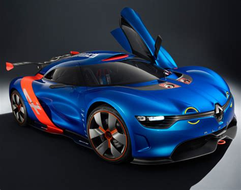 renault alpine concept renault alpine a110 50 concept officially unveiled