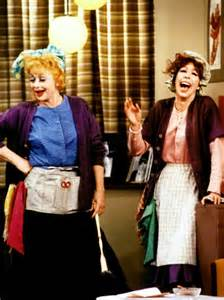 Lucy Ball and Carol Burnett