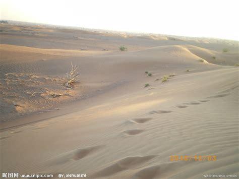 沙漠足迹摄影图__自然风景_旅游摄影_摄影图库_昵图网nipic.com