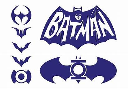 Batman Logos Pack Dc Vectores Comics Clip