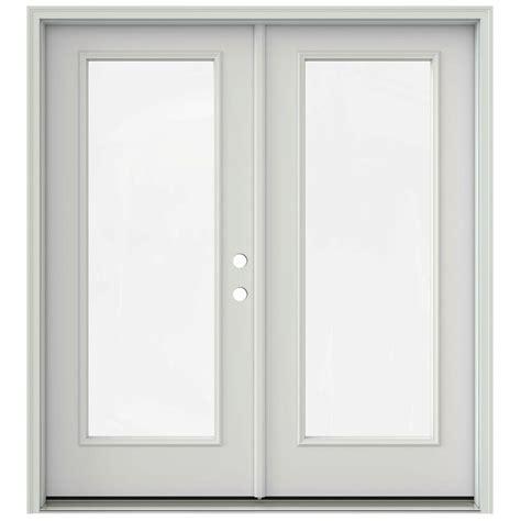 jeld wen patio doors reviews jeld wen 72 in x 80 in primed prehung left inswing