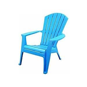 amazon com adams mfg co blu adirondack chair 8370 21 3700 resin patio chairs patio lawn