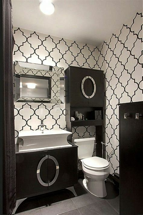 Vinyl Wallpaper For Bathroom Walls Modern Wallpapers For The Whole Apartment Room