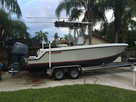 Used Contender Boats Craigslist by 2001 Contender 23 Sold The Hull Boating And