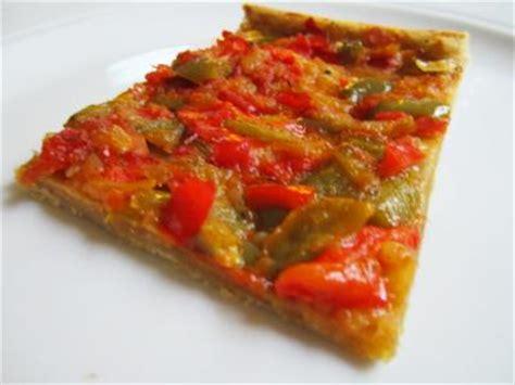 cuisiner les poivrons verts la coca de mamie yvette recette de tarte aux poivrons