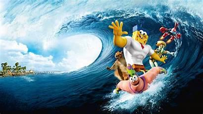 Spongebob Wallpapers Sponge Water Movies Iphone 4k