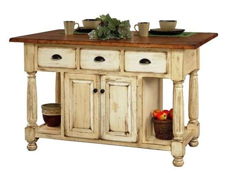 Kitchen Table And Island Combinations - french country kitchen island