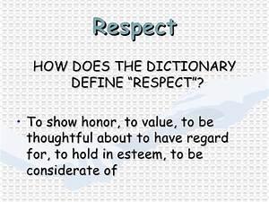 Harassment Retr... Respect Definition