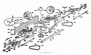Dixon Ztr 1  1974  Parts Diagram For Transaxle Assembly