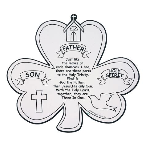 Here another pictures related to st patrick coloring pages religious : Saint Patrick Holy Trinity Clipart - Clipart Suggest