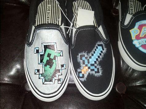 Custom Minecraft Shoes