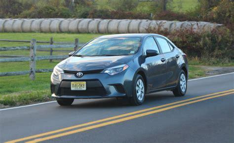 2015 Toyota Corolla Le Eco Review