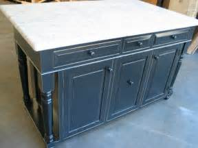 distressed kitchen island quot 60 distressed black kitchen island with granite quot