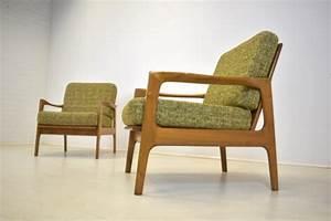 Sessel 60er Design : 2x sessel easy chair danish design mid century 60er ~ A.2002-acura-tl-radio.info Haus und Dekorationen