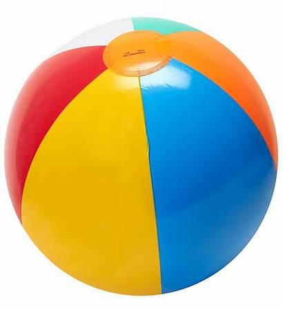 Ball Beach Clipart Balls Clip Plastic Beachball