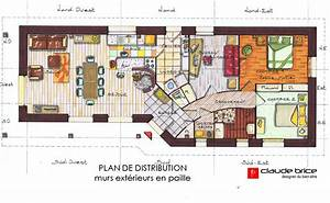 maison feng shui plan bricolage maison et decoration With plan maison ideale feng shui