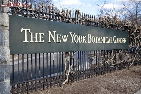 l insegna new york botanical garden foto new