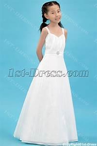 straps pleats kids formal mini bridal gown for flower girl With mini wedding dress for flower girl