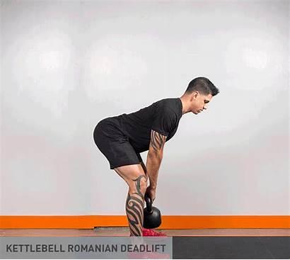 Deadlift Kettlebell Form Proper Romanian Workout Deadlifts