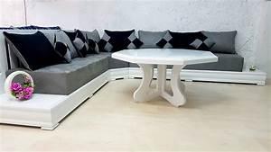Salon Marocain Blanc : salon marocain simpl blanc ii valence ~ Nature-et-papiers.com Idées de Décoration