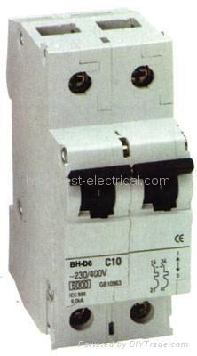 Mitsubishi Type Bhd Mcb Mini Circuit Breaker