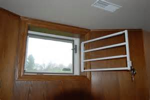 Hinged Basement Window Security Bars