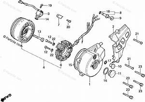 Honda Motorcycle 1987 Oem Parts Diagram For Left Crankcase