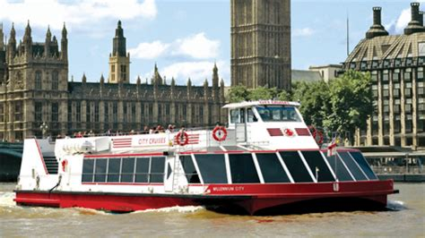 London Eye Boat Cruise by City Cruises Tickets 2for1 Offers