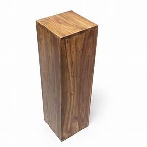 Dekosäule Holz Massiv : dekos ule blumenpodest sheesham 25x25x85 ~ Sanjose-hotels-ca.com Haus und Dekorationen