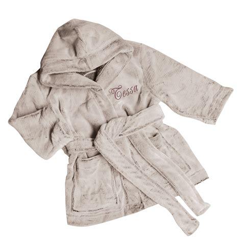 robe de chambre homme personnalisé peignoir polaire ourson brodé une idée de cadeau