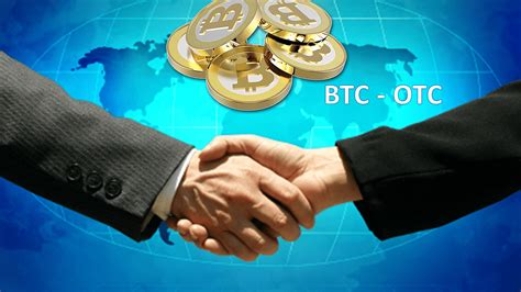 A guide to buying bitcoin and cryptocurrency otc over the counter trades are purchases bought off exchanges to allow whales to buy large amounts of bitcoin without affecting the markets. How Does A Bitcoin Over The Counter (OTC) Market Work? Explained - Coiner Blog
