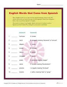 Figurative Language Worksheets 5th Grade Hispanic Heritage Worksheet Word Activity