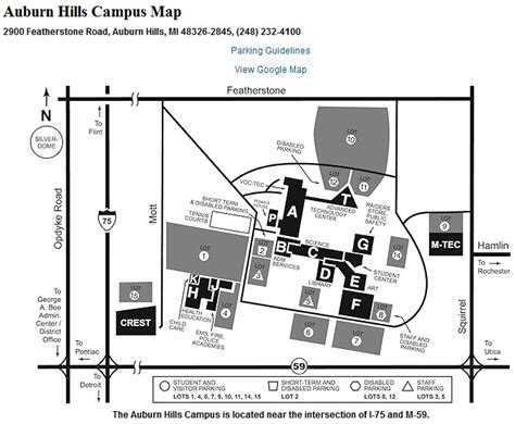 Auburn University Campus Map