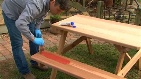 easily stain  outdoor furniture thompsons waterseal