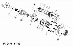 Ford F250 Front Axle Parts Diagram