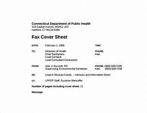 Fax Cover Letter Sample Word Sample Fax Cover Sheet 27 Free Documents In Pdf Word