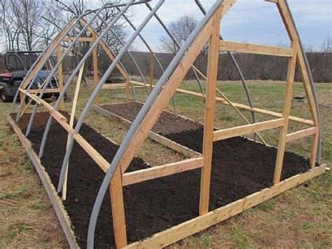 Build Small Hoop House