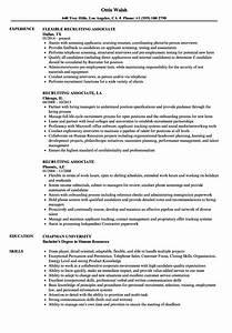 Customer Service Associate Job Description Resume Recruiting Associate Resume Samples Velvet Jobs