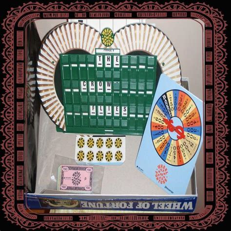 fortune wheel board game 1985 classic